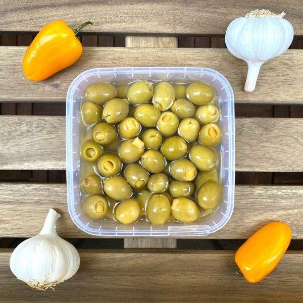 Oliwki Manzanilla nadziewane cytryną